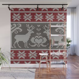 Ugly knitted Sweater Wall Mural