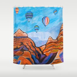 Magical Journey Shower Curtain