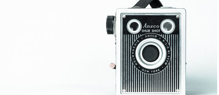 Sure Shot Vintage Camera Coffee Mug