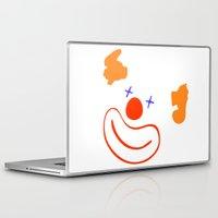 clown Laptop & iPad Skins featuring clown by siloto