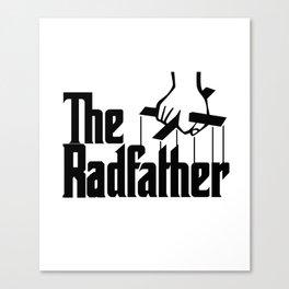 The Radfather Tshirt, Fathers Day Tshirt, Fathers Day Gift, Fathers Day, Dad Gift Canvas Print