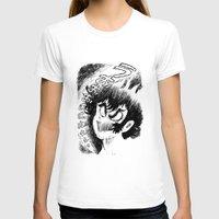 akira T-shirts featuring Akira Screaming by Ellyn Gazda