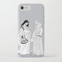 roman iPhone & iPod Cases featuring Roman Sisters by Art of Tom Tierney