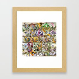 WHAT'S THIS? 13 Framed Art Print