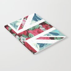 United Kingdom Flowers Notebook