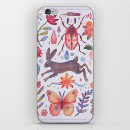Et coloris natura V iPhone Skin