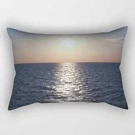 Sunset, Santorini Rectangular Pillow