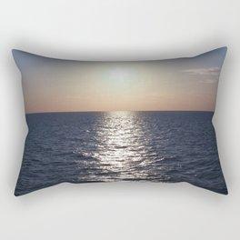 Sunset, Santorini Rectangular Pillow