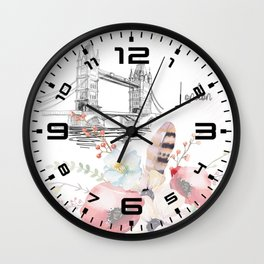 Flowers bouquet #27 Wall Clock