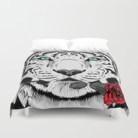 rose Duvet Covers featuring Rose by Roland Banrevi