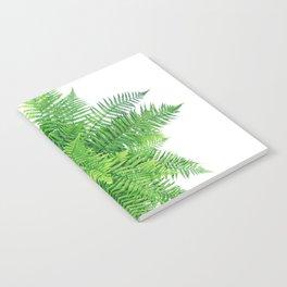 Beautiful Fern bouquet Notebook