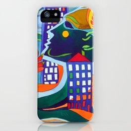 Tribute to Hundertwasser iPhone Case