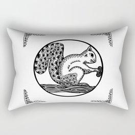 Squirrel by WildArtLine Rectangular Pillow