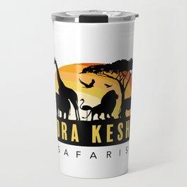 Bora Kesho Safaris Travel Mug