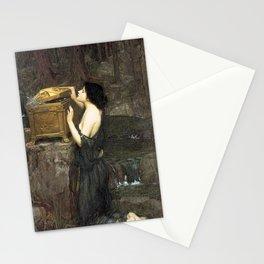 Pandora by John William Waterhouse Stationery Cards