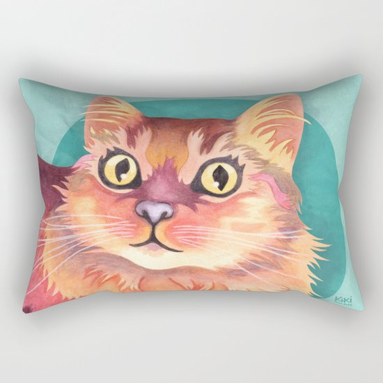 Meowgi Rectangular Pillow