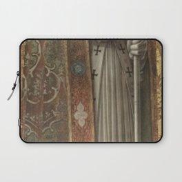 Carlo Crivelli - San Nicola di Bari Laptop Sleeve