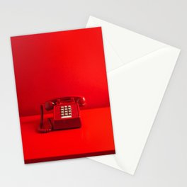 Red Phone Stationery Cards