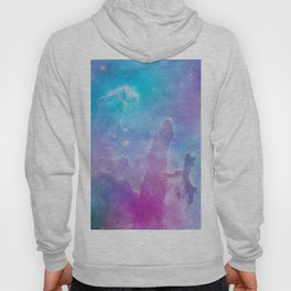 Colorful Deep Space Pillars Of Creation Hoody