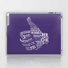 Thumbs Up! Laptop & iPad Skin