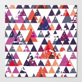 pattern traingle Canvas Print