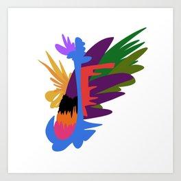 mish-mash Art Print
