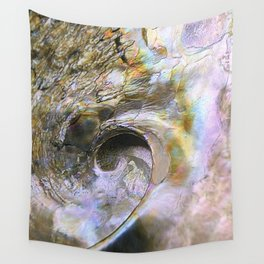 Abalone Portrait Wall Tapestry