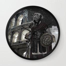 Neapolitan Mastiff Gladiator Wall Clock