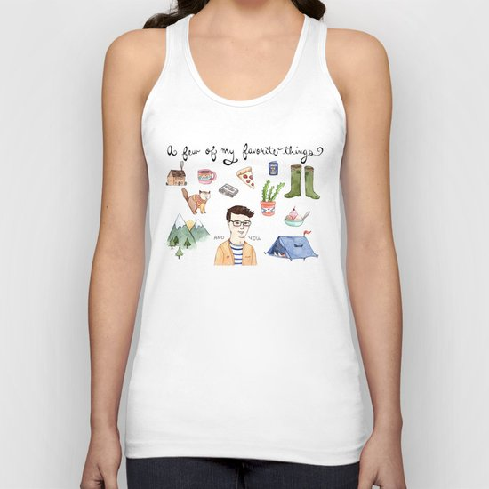 Favorite Things Unisex Tank Top