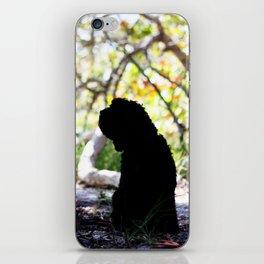 I'll be here when you return  iPhone Skin