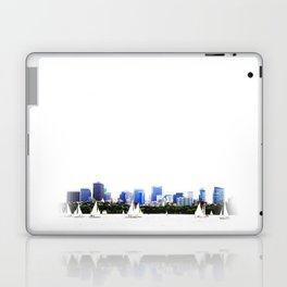 Boston skyline Laptop & iPad Skin