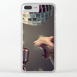 Household pet competition Clear iPhone Case