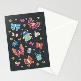 Love Bug in Bright + Dark Stationery Cards