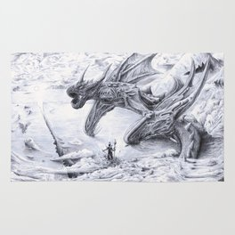 Attack on Titan Dragon Rug