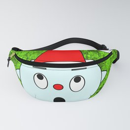 Funny surprised Head Fanny Pack