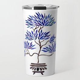 Bonsai Tree – Navy Palette Travel Mug
