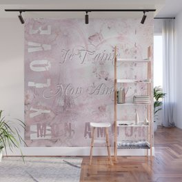 Je t'aime mon Amour Wall Mural