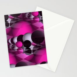 3D - abstraction -115- Stationery Cards