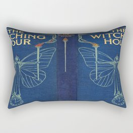 The Witching Hour Book Rectangular Pillow