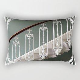 Stairway to Heaven - geometric circle Rectangular Pillow