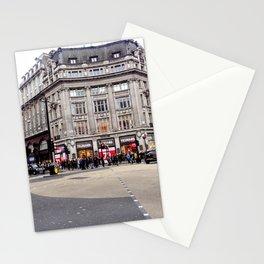 London Street Scene Stationery Cards