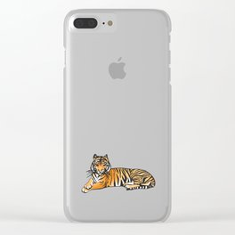Tame like a Tiger Clear iPhone Case