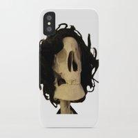 skeleton iPhone & iPod Cases featuring skeleton by Francesco Mestria