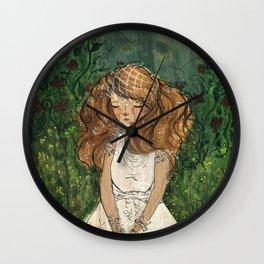 Ginger Bride Wall Clock