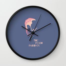 RiFF RaFF The Peach Panther Wall Clock