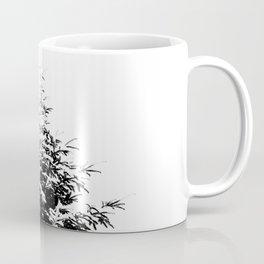 Minimal fir tree portrait Coffee Mug