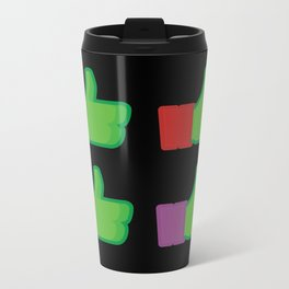 I Like TMNT Metal Travel Mug