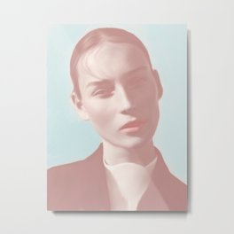 Edge by Amelia Millard Metal Print