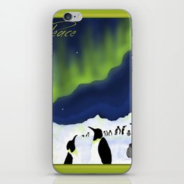Peace (Southern Lights) iPhone Skin