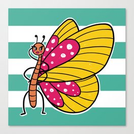 Bella Butterfly Canvas Print